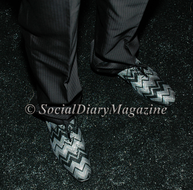 David Copley's very cool shoes