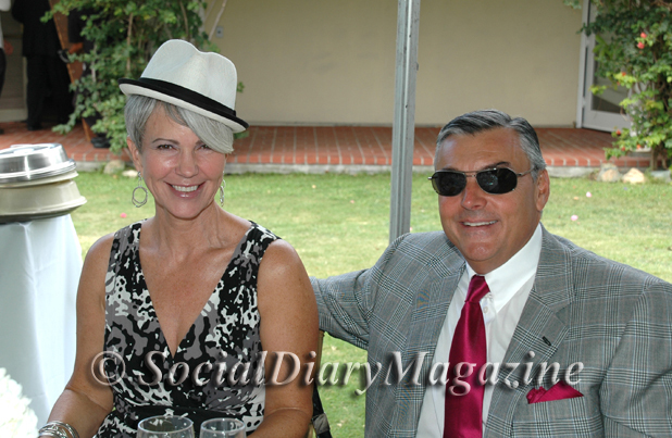 Jeanie and Ray Lucia having some hat fun!