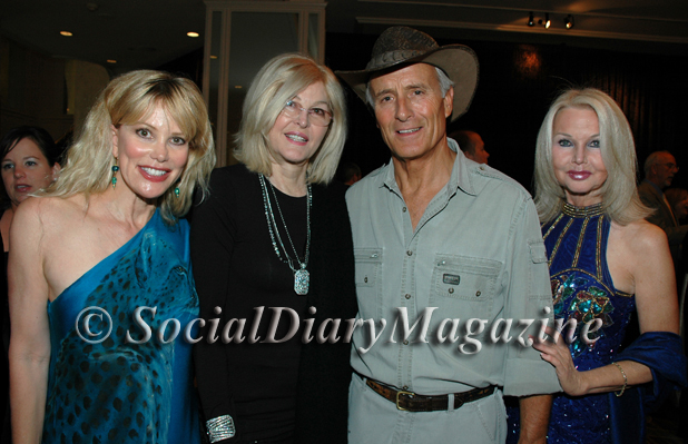 Margo Schwab of The Social Diary with Lorna Berle, Jack Hanna and Alanna Tarkington
