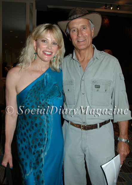 Margo Schwab of Beverly Hills Social Diary and San Diego Social Diary with Jack Hanna